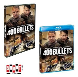 400 BULLETS (2021) DVD and BluRay-SHOUT Studios-2021-02-06-jrl-charts-movie-trailers