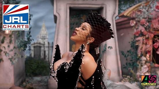 Cardi B Up MV - Atlantic Records-2021-02-07-JRL-CHARTS-gay-music-news