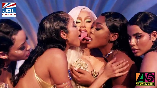Cardi B-hip-hop-new-song-Up-Music Video-Debuts-with-19 Million Views-2021-02-07-jrl-charts