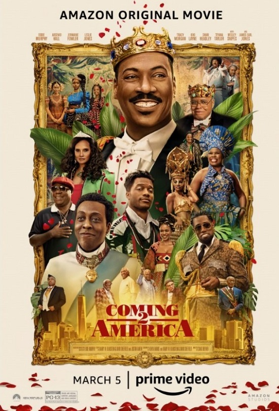 Coming 2 America 2 Official Poster - Poster-Paramount Pictures-Prime-Vdieo