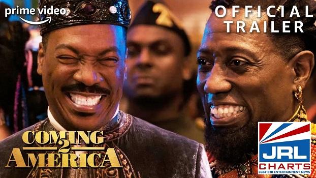 Coming 2 America 2 - Trailer #2 (2021) Eddie Murphy-Arsenio Hall-Wesley-Snipes-jrl-charts