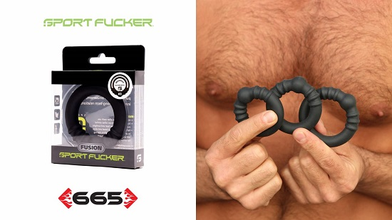 HOLESHOT Fusion Ring by Sport Fucker™-665-Leather-2021-02-01-jrl-charts-pleasure-products