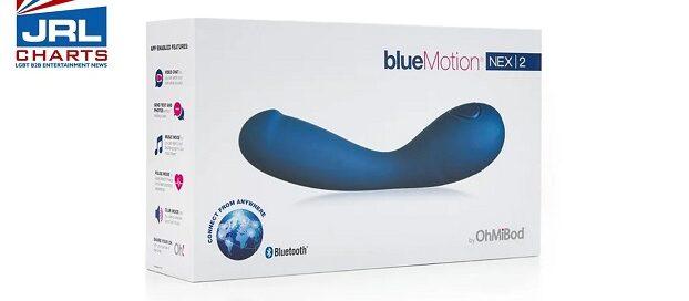 OhMiBod Release New Version of Its blueMotion NEX-2 Vibrator-2021-02-01-jrl-charts-pleasure-products