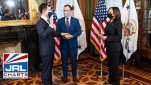 Pete Buttigieg Sworn In As First Openly Gay Cabinet Secretary-2021-02-03-jrl-charts