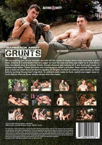 bareback-army-grunts-#9-DVD-back-cover-active-duty-gammae