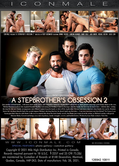 A Stepbrother's Obsession 2 DVD-bavk-cover-Icon Male-Mile High Media-2021-03-29-JRLCHARTS