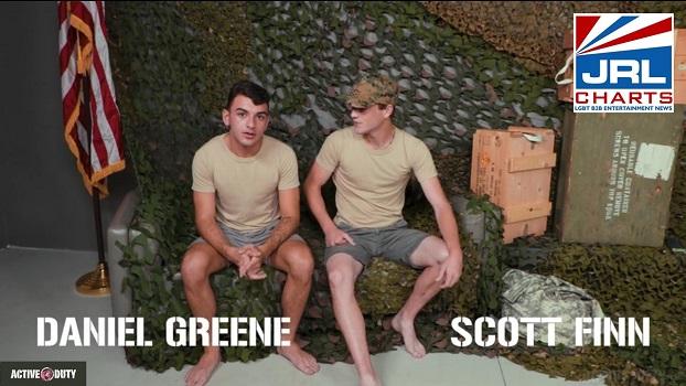 Active Duty-Soldier Scott Finn Breaks In New Recruit Daniel Greene-2021-03-01-jrl-charts