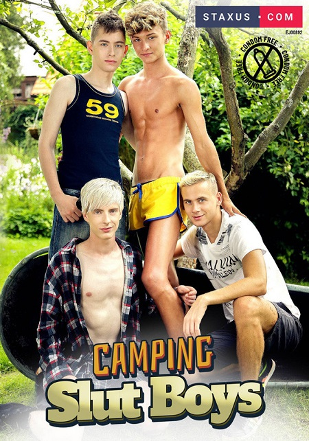 Camping Slut Boys DVD-front-cover-Staxus Sales
