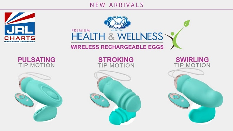 Cloud 9 Novelties-Health and Wellness-Wireless Motion-Tipped Eggs-2021-03-16-JRL-CHARTS