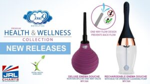 Cloud 9 Novelties Launch 2 New Enema-Douche Products in Health & Wellness Line with Non-Back Flow Feature