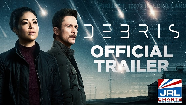 Debris (NBC) First Look at New Sci-Fi TV series-2021-03-02-JRL-CHARTS-New-TV-Show-Series