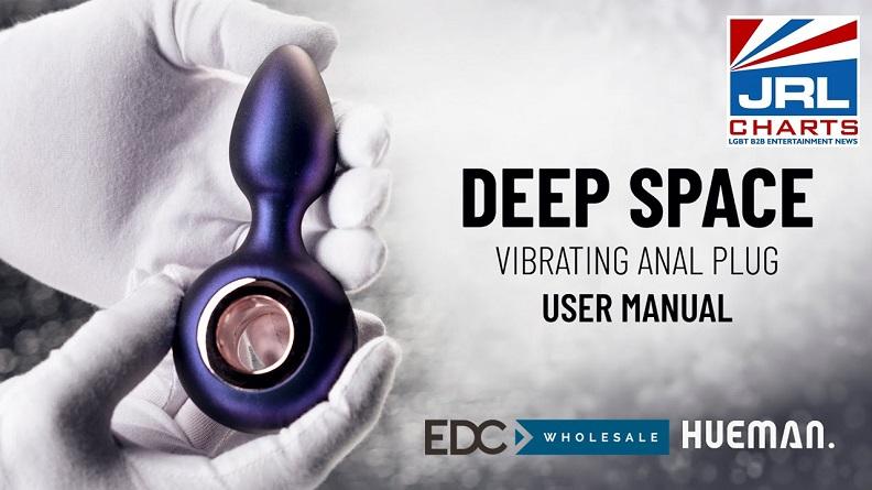 Deep Space Vibrating Anal Plug-HUEMAN Promo Video-EDC-Wholesale-JRL-CHARTS