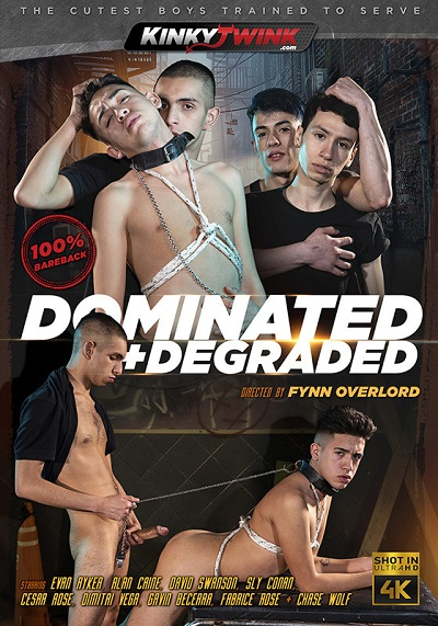 Dominated + Degraded DVD-front-cover-Kinky Twink