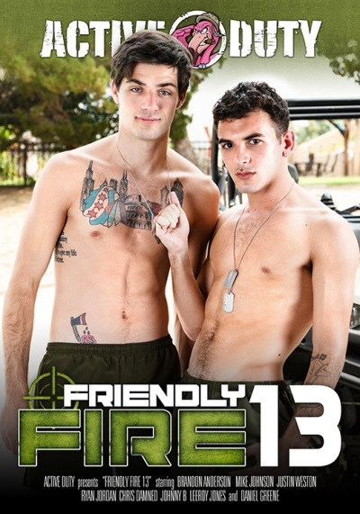 Friendly Fire 13 DVD-front-cover-Active DutyPulse
