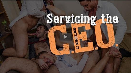 Gentlemen 29 Servicing The CEO DVD-Gay-Porn-Trailer-Lucas-Entertainment