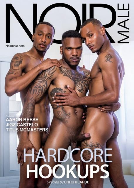 Hardcore Hookups DVD-front-cover-Noir Male