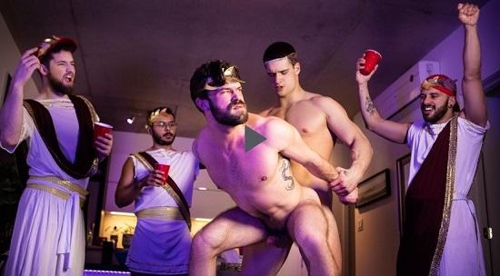 Men-com unleash Tug On My Toga-official-gay-porn-movie-trailer