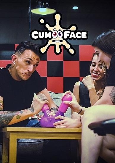 Shots America-Cum Face Duel Pump Action Penis Game
