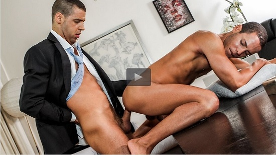Tommy Deluca Pounds Liesvel Lopez gay porn trailer-Lucas-Entertainment