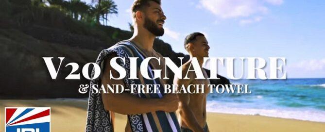 2EROS Release Signature Series Swimwear & Sand-Free Beach Towel Commercial-JRL-CHARTS