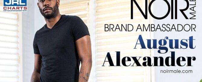 August Alexander named Noir Male Spring Brand Ambassador-2021-04-01-JRL-CHARTS
