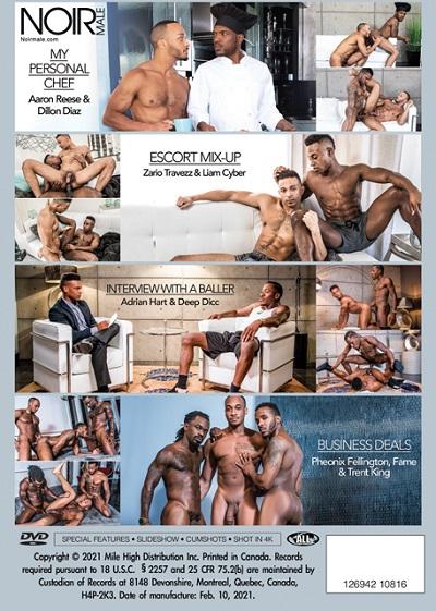Black Desires DVD-back-cover-Noir Male-Mile High Media