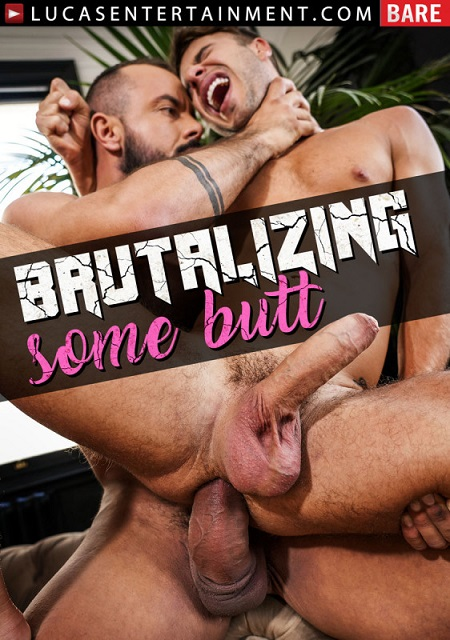 Brutalizing Some Butt DVD - front-cover-Lucas Entertainment