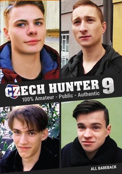 Czech Hunter 9 DVD-front cover-Pulse Distribution