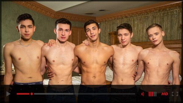 Helix Studios-Quiet On Set Take Five-gay-porn-movie-trailer