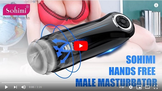 Sohimi Eliza-Hands Free Male Masturbator Demo Video