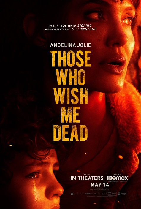 THOSE WHO WISH ME DEAD Official Poster-Warner Bros-HBO Max