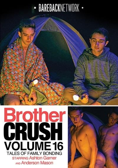 Brother Crush Volume 16 DVD-front-cover-BarebackNetwork