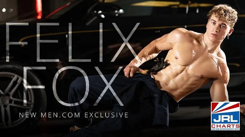 Gay Adult Film Star Felix Fox Signs With Mendotcom-2021-05-10-JRL-CHARTS