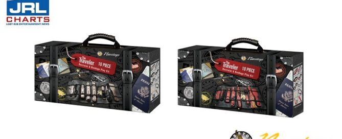 Nasstoys The Traveler 10 Piece Restraints & Bondage Kit Arrive in time for PRIDE Season