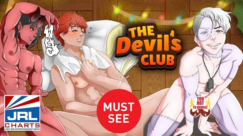 Nutaku-The Devil's Club Casual Merge Game- LGBTQ-Adult-Games-2021-05-04-JRL-CHARTS