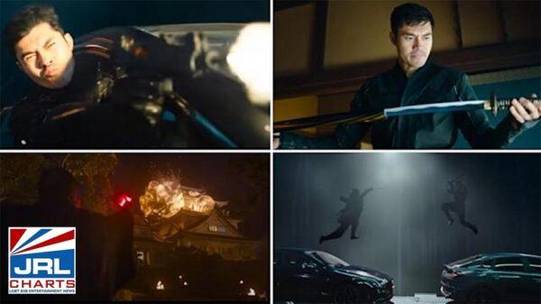 SNAKE EYES G.I. Joe Origins Official Trailer - Henry Golding-Screenclips-Paramount