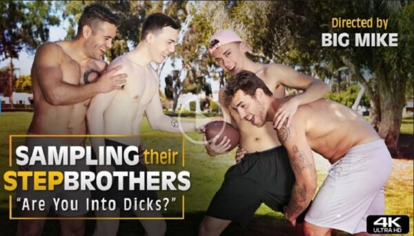 Sampling Their Stepbrothers-are you into dicks-official trailer-next door taboo