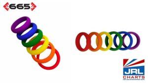 665 Distribution Unveil PRIDE Rainbow Cockring Pack-2021-06-03-JRL-CHARTS