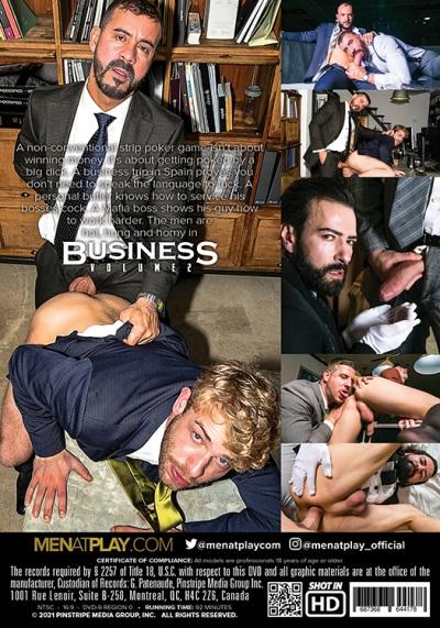 Business Volume 2 DVD backcover - MenAtPlay