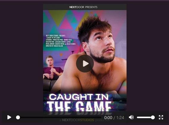 Caught In The Game DVD official trailer-next-door-studios