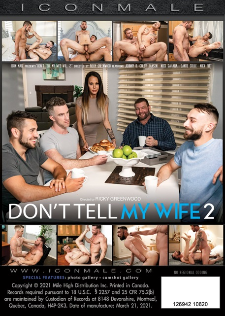 Don't Tell My Wife 2 DVD back cover