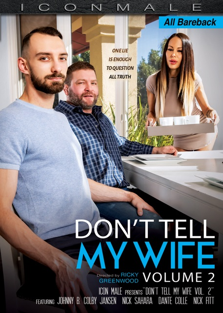 Don't Tell My Wife 2 DVD-front-cover-IconMale-MileHighMedia