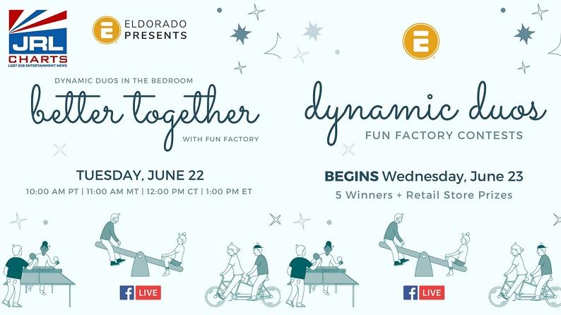 Eldorado Presents Better Together – Dynamic Duos in the Bedroom-Facebook Live Event-JRLCHARTS