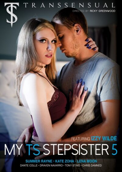 My TS Stepsister 5 DVD front cover-Transsensual-Mile High Media