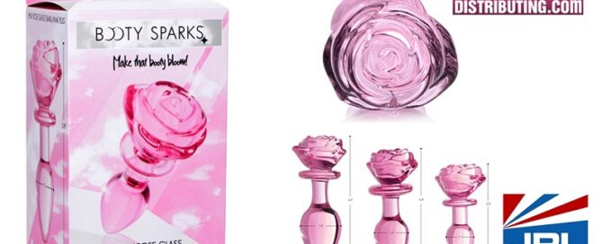 Sex Toy Distributing Unveil Booty Sparks Pink Glass Plugs-2021-06-23-JRL-CHARTS