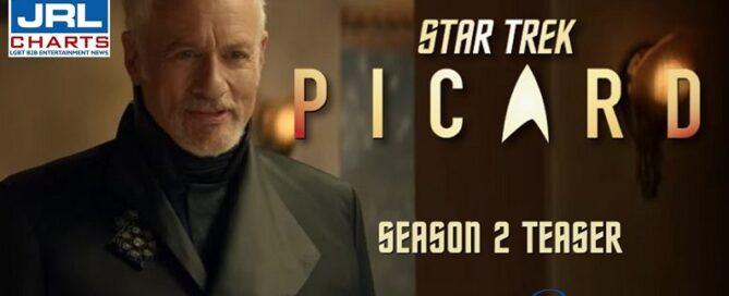 Star Trek Picard-Season 2 - New Teaser-Paramount Plus-JRLCHARTS-TV Show Trailers