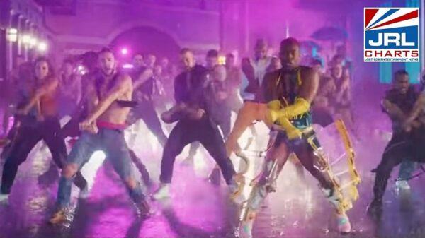 Todrick Hall drops the mic with his Rainin' Fellas Music Video-JRLCHARTS-03