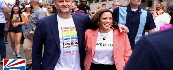Vice President Kamala Harris Making History as First VP to March in PRIDE Parade-2021-06-12-JRLCHARTS