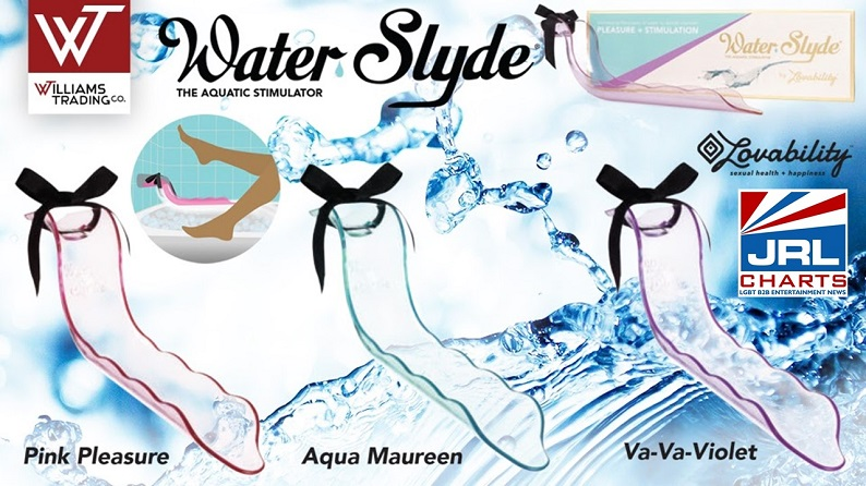 Williams Trading Co. Adds LovabilityⓇ WaterSlydeⓇ Aquatic Masturbation & Hygiene Device
