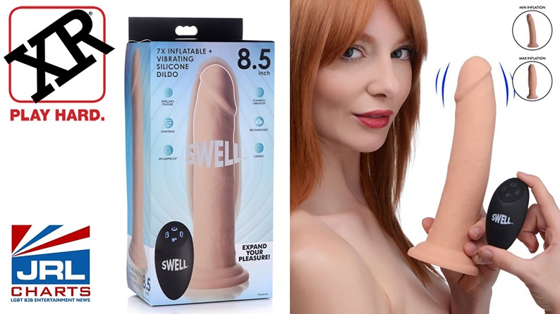 XR Brands Expands Top-selling Swell Collection with Remote-control Inflating Dildos